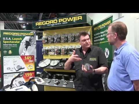 Record Power Scroll Chucks - AWFS 2015