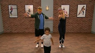 Watch: James Corden and Gwyneth Paltrow take toddler dance class