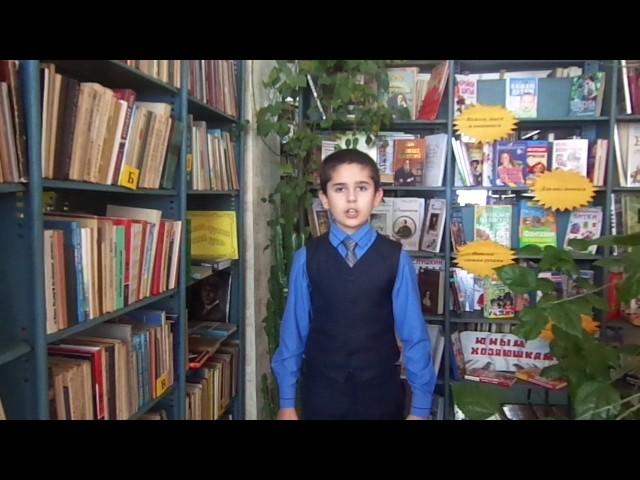 Изображение предпросмотра прочтения – ВладимирСапрыкин читает произведение «Школьник» Н.А.Некрасова