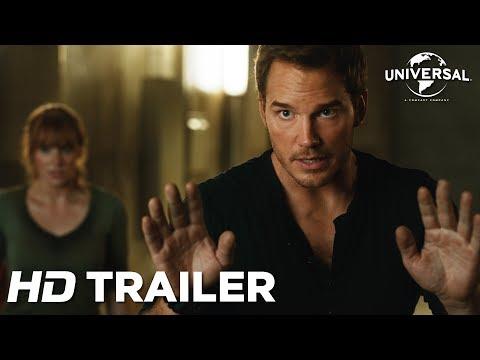 Jurassic World: Reino Ameaçado - Trailer Internacional 2 (Universal Pictures) HD
