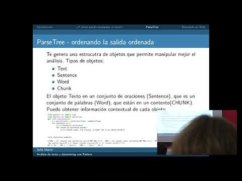 Image from Análisis de texto y data mining con Pattern
