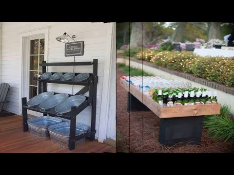 Creative and Low Budget DIY Outdoor Bar Ideas - YouTube