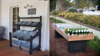 Creative and Low Budget DIY Outdoor Bar Ideas