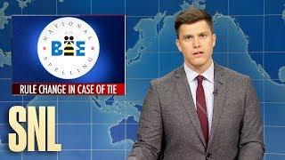 Weekend Update: Spelling Bee Shake-up - SNL