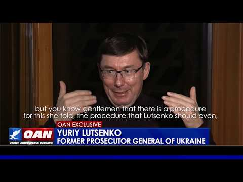 OAN EXCLUSIVE: Yuriy Lutsenko says Yovanovitch perjured herself before Congress