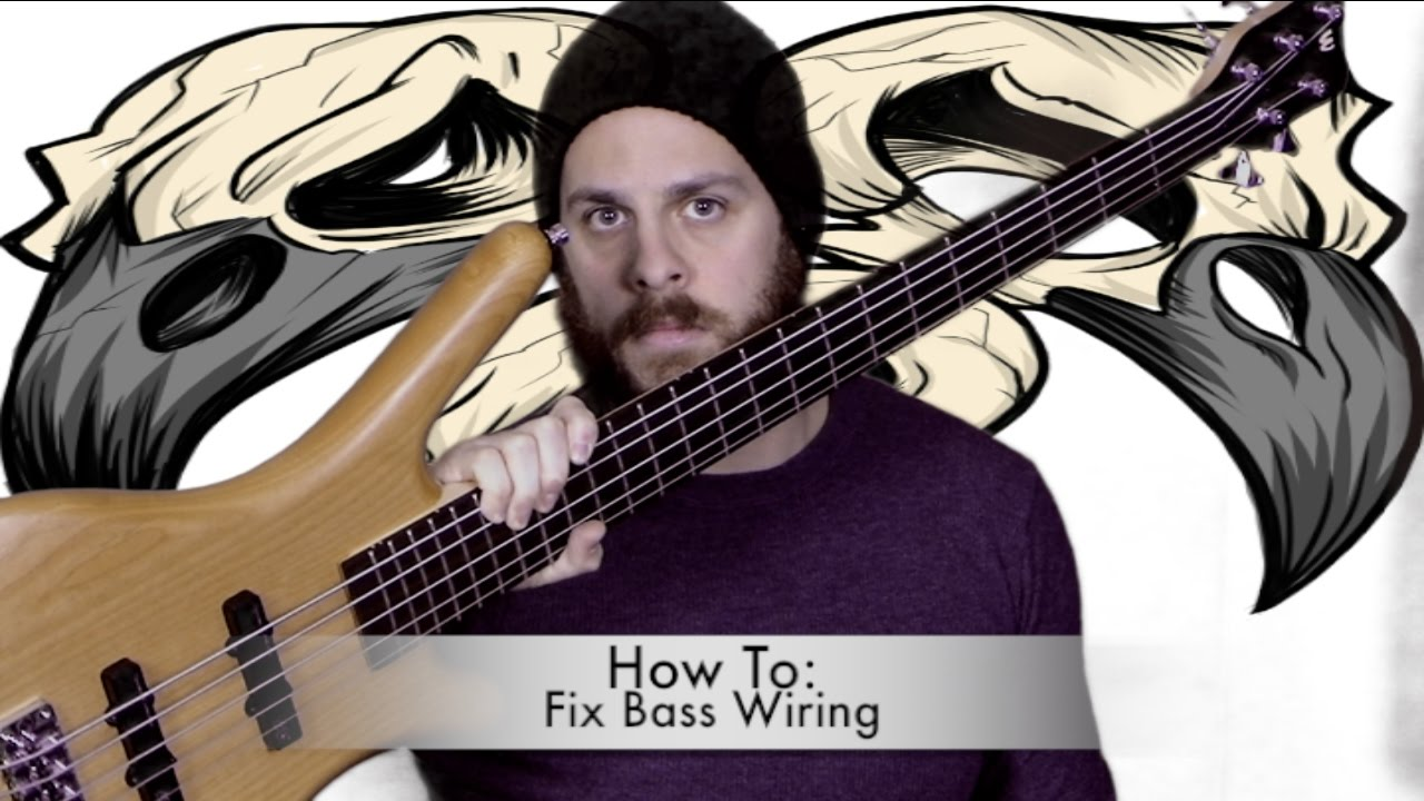 lyon guitar wiring diagrams how to fix wiring on your bass youtube  how to fix wiring on your bass youtube