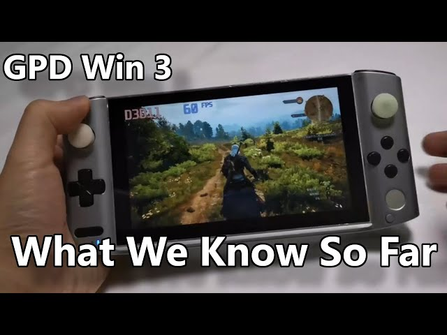 GPD Win 3 - What We Know So Far Part 1