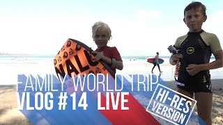 FAMILY WORLD TRIP VLOG#14 | LIVE HI-RES Byron Bay