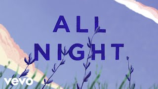 Cover images Polar Youth - All Night (Lyric Video) ft. Georgie Allen