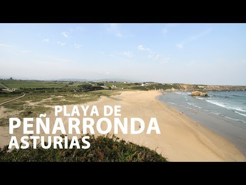 video sur La plage de Peñarronda