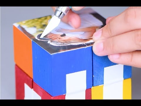 DIY Infinity Photo cube | 5 min craft
