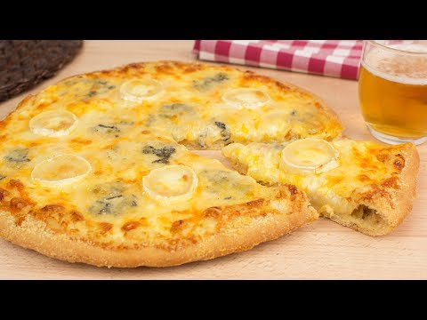 Six Cheese Pizza – How to Make Homemade Cheese Pizza