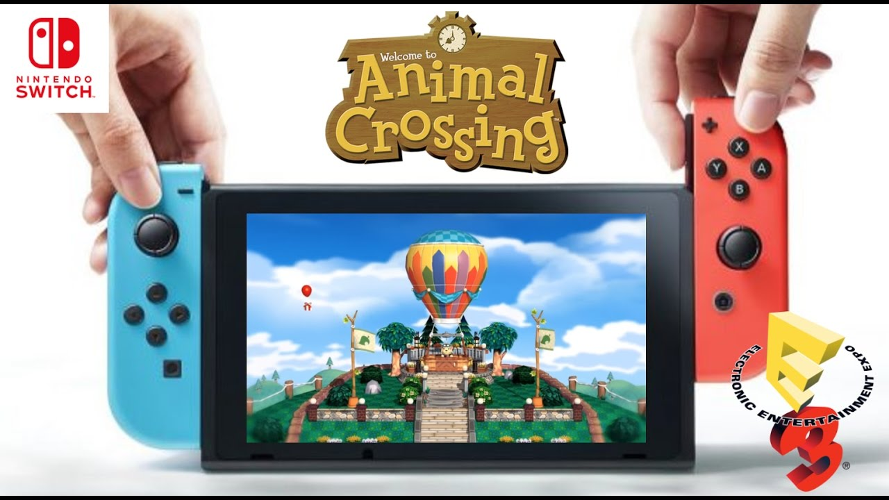 ANIMAL CROSSING SWITCH E3?!?! - YouTube