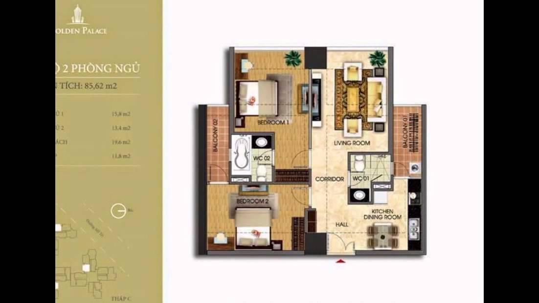 Bán chung cư cao cấp Golden Palace