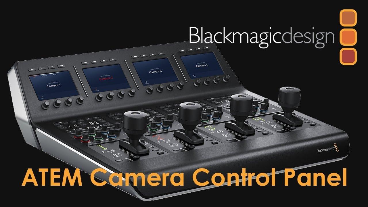 Atem Camera Control Panel Youtube