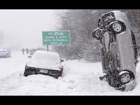 Top 10 BIGGEST Snow Storms / Blizzards of All Time