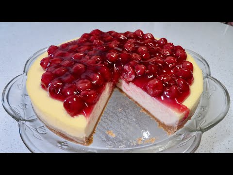 The Best Ever Cherry Cheesecake | Easy To Follow Recipe