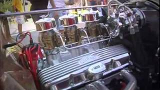 1935 Ford Pickup Hot Rod 2010 Somernites Cruise Video V8TV
