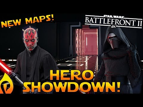 *NEW* Maps  For Hero Showdown With Gameplay In Star Wars Battlefront 2