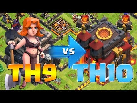 Clash of Clans: How to Attack TH10s as a TH9!  How to Attack Inferno Towers!