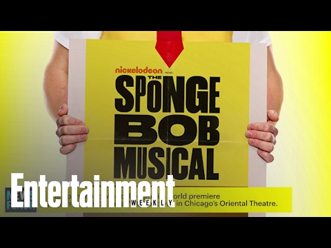 The Spongebob Musical: Cast, Poster, And Plot Revealed! | Entertainment Weekly