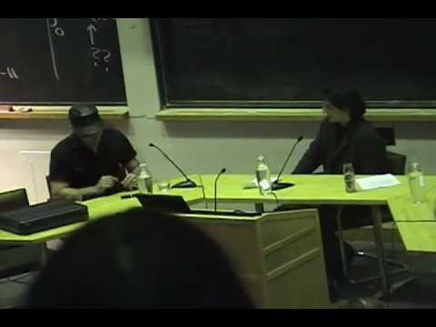 Boyd Rice -  Ideologues of the Rejected - April 3, 2005 - Cambridge, MA - MIT