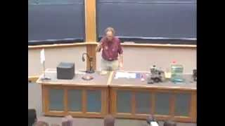 Lec 01: Periodic Oscillations, Physical Pendulum | 8.03 Waves and Vibrations (Walter Lewin)