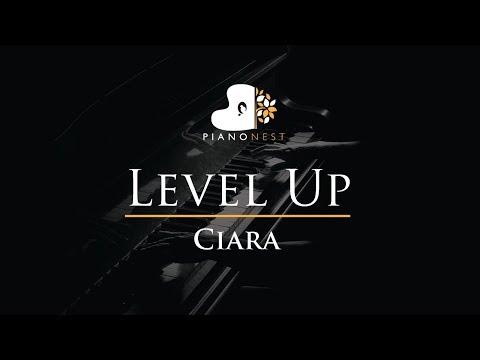 Ciara - Level Up - Piano Karaoke / Sing Along / Cover With Lyrics