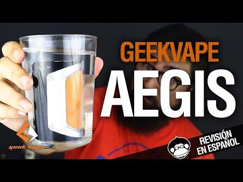 Geekvape AEGIS / INDESTRUCTIBLE Y SUMERGIBLE / revisión