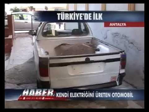 Kendi Elektrigini Üreten Otomobil - omerkocabey@gmail.com yakıtsız araba