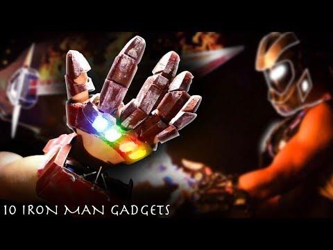 10 DIY IRON MAN Gadgets Brought To Life! (Evolution of IRON MAN)