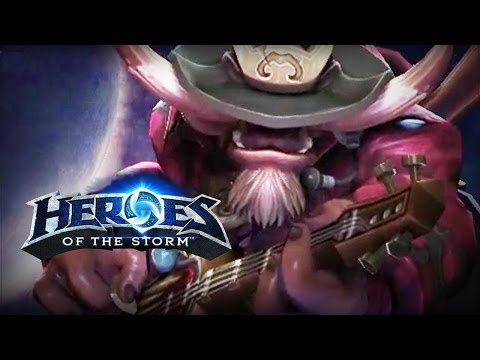 ♥ Heroes of the Storm (Gameplay) - E.T.C., Time For an Encore (HoTs Quick Match)