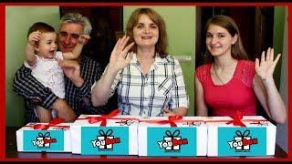СЮРПРИЗ-БОКСЫ от YouBox для всей семьи! | ЧТО В КОРОБКЕ?