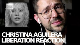 Baixar Christina Aguilera - Liberation Album - Official Reaction Video