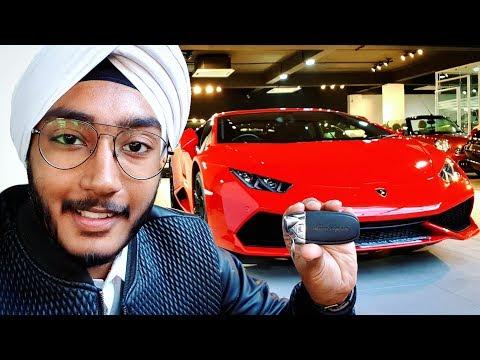 Got the keys to a Lamborghini Huracan, New Delhi, Review !!