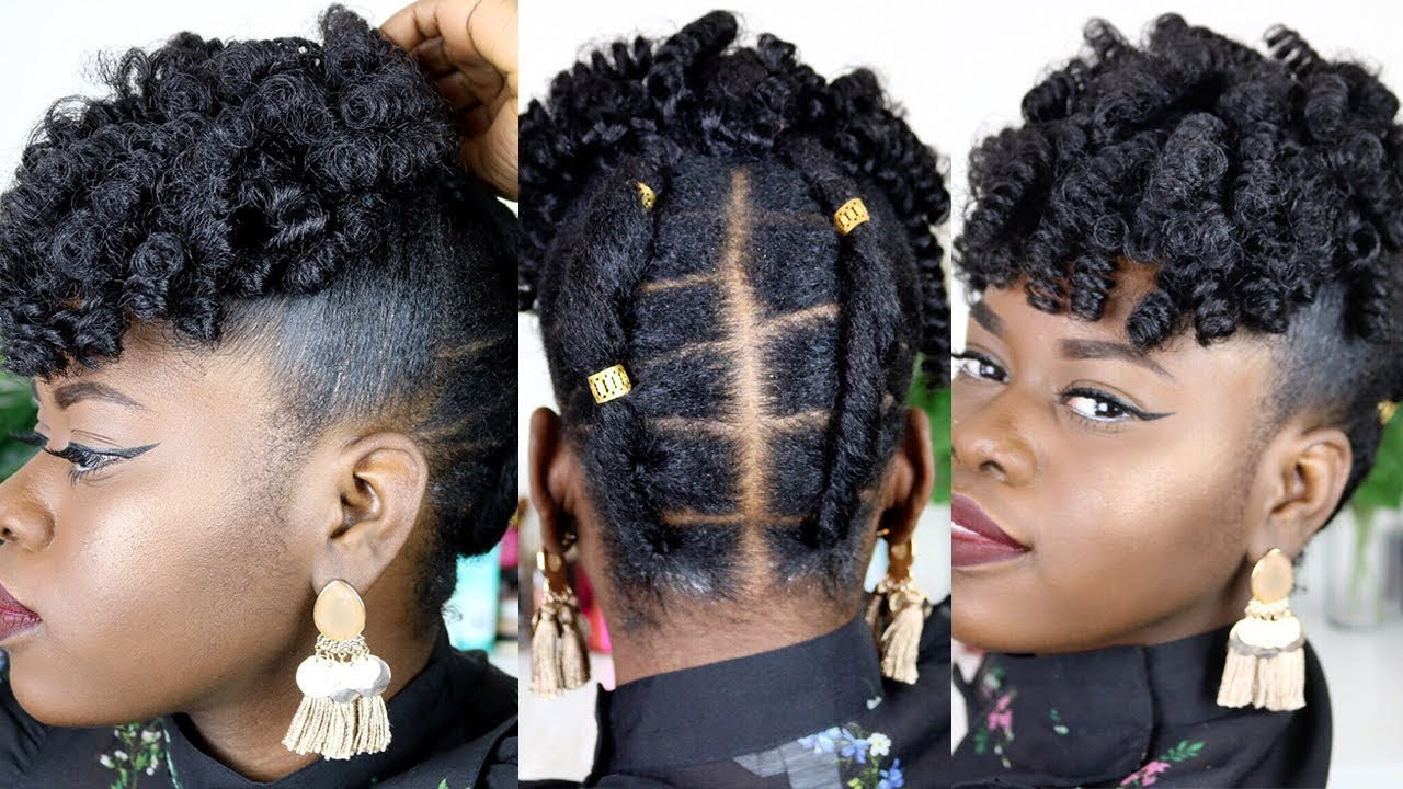 M Style Hair Ss15: BRAIDLESS CROCHET FOR SHORT NATURAL HAIR