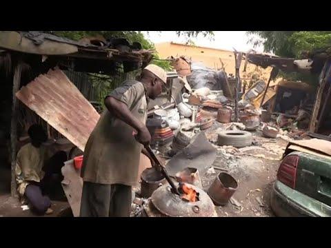 Niger, FABRICATION ARTISANALE DES MARMITES