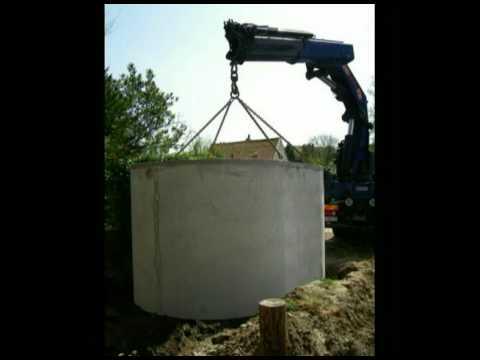 cuve beton amtp pour stockage recup ration d 39 eau de pluie youtube. Black Bedroom Furniture Sets. Home Design Ideas