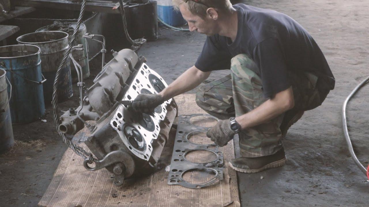 Проблемы с двигателем. Снова разбираю кировец К-744Р.