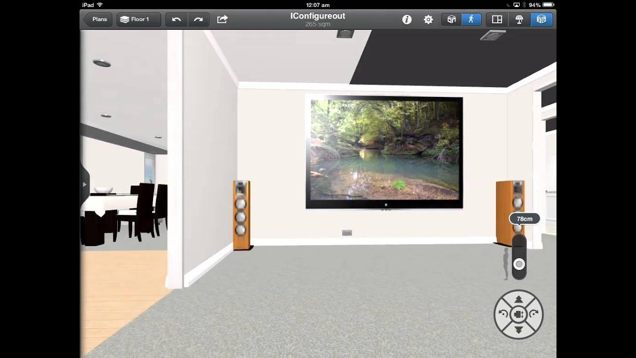 Walkthrough of 3d house plan youtube for 3d house walkthrough