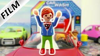 Playmobil Film Deutsch - CHAOS IN DER AUTOWASCHANLAGE! TYPISCH JULIAN! Kinderserie Familie Vogel