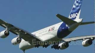 [ HD 1080p ] 30/03/2012 - Airbus A380 - Landing at Ezeiza International Airport, Argentina -