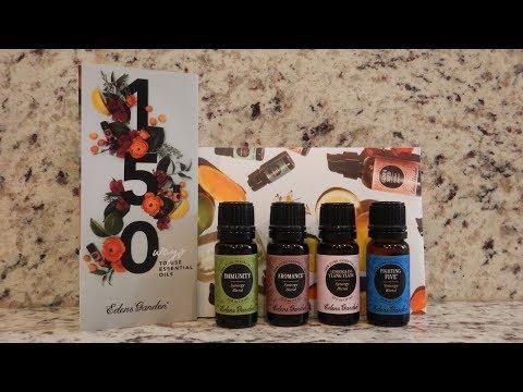 edens-garden-unboxing-●-essential-oils-●-synergy-blends
