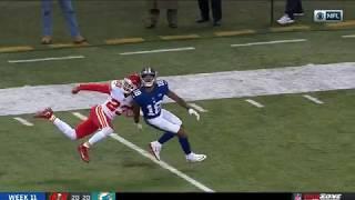 Roger Lewis INSANE Overtime Catch! | Chiefs vs. Giants | NFL