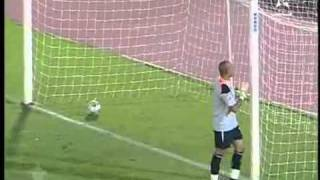 The Funniest Penalty Ever - Funny Stupid Goakeeper Mistake 09.09.10 Funny Penalty Shootout.