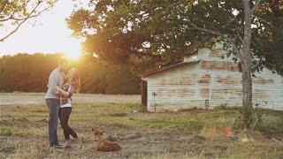 Sweet Texas engagement story at The White Sparrow