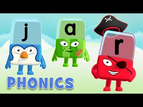 Phonics - Learning Difficult Words | Learn to Read | Alphablocks