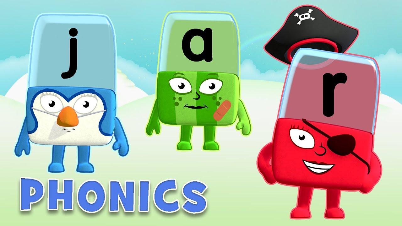 Alphablocks Learn to Read | Mysterious Magic E | Phonics ...