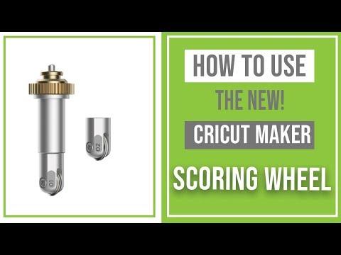 How to Use the Cricut Maker Scoring Wheel