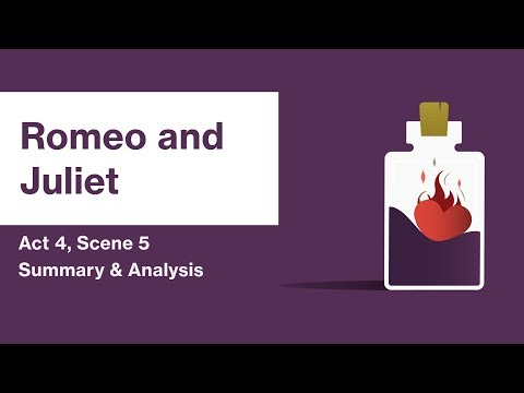 Romeo and Juliet by William Shakespeare | Act 4, Scene 5 Summary & Analysis